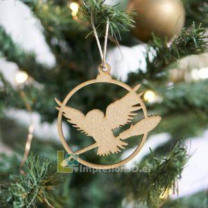 Bola de Navidad Harry Potter lechuza Hedwig