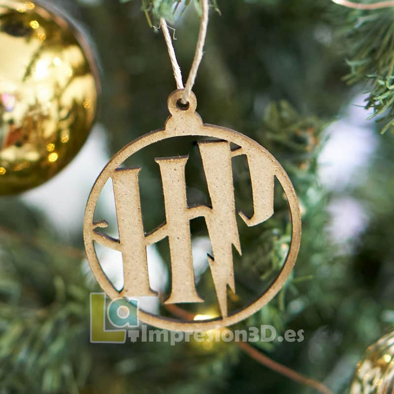 Bola de Navidad Harry Potter