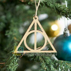 Bola de Navidad Harry Potter reliquia de la muerte