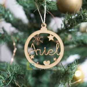 Bola de Navidad personalizada con nombre